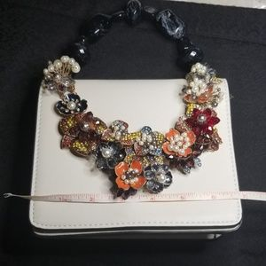 Zara Bags - 💥 Zara Handbag  Crystal & Rhinestone Jewelry
